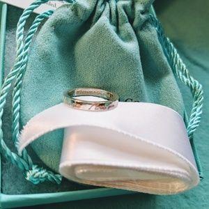 Tiffany & Co. Jewelry - Tiffany and Company I love you ring size 6